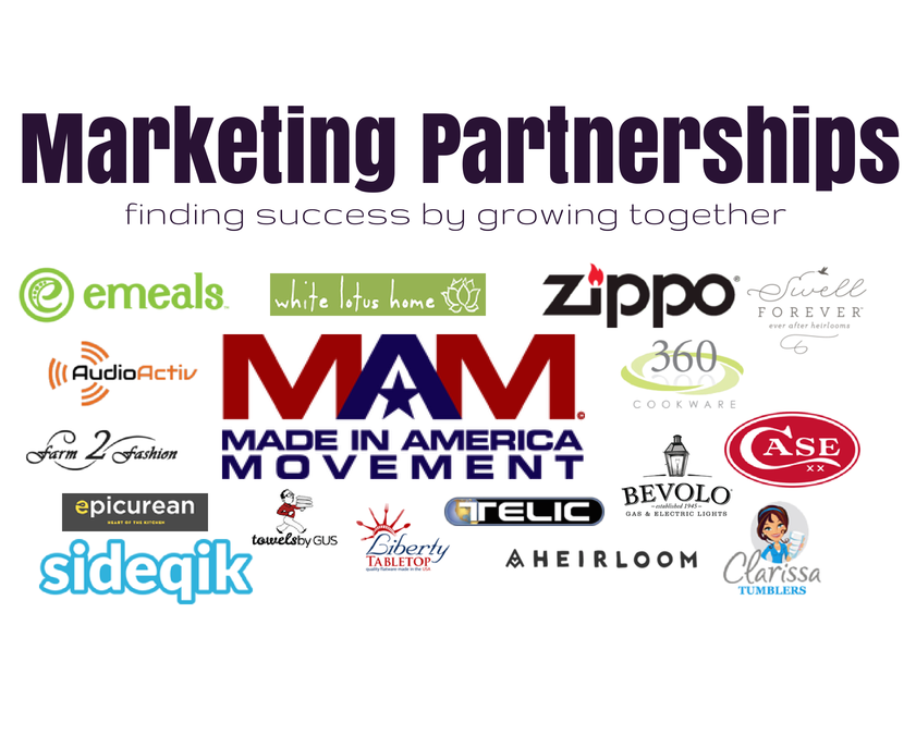 Marketing Partnerships | growing together for marketing success | campaigns | how to partner with brands