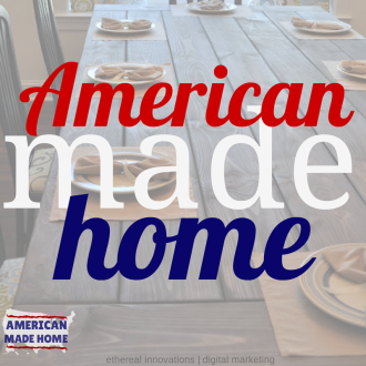 The American Made Home giveaway | successful marketing partnership