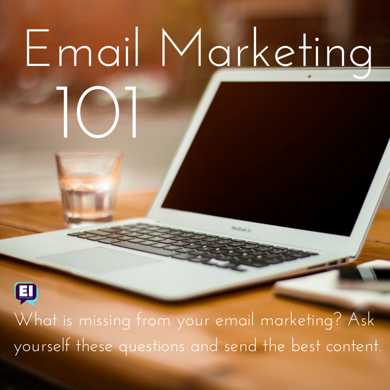 Email marketing 101 | refresher course on making emails awesome |